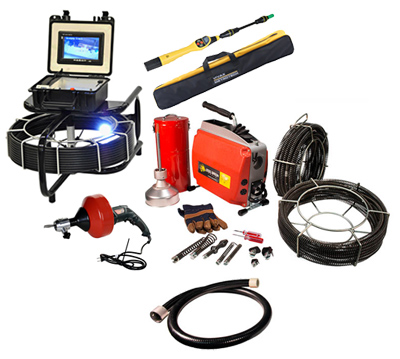Sewer Camera and Sectional Machine Package SCCL-001