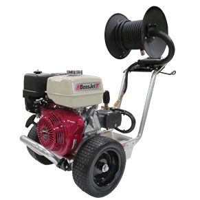 BossJet Pro AM400-05 Sewer Jetter Honda GX Engine