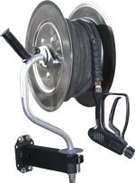 Pressure Washer and Sewer Jetter Hose Reels